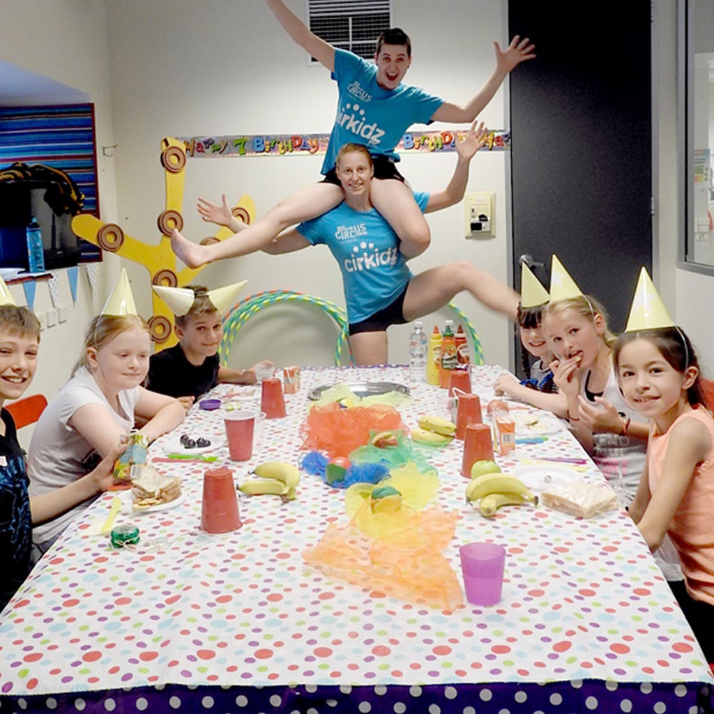 cirkidz birthday parties