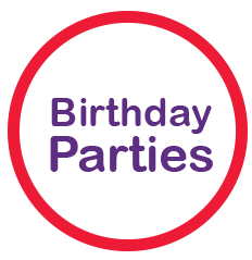 Birthday programs at Cirkidz
