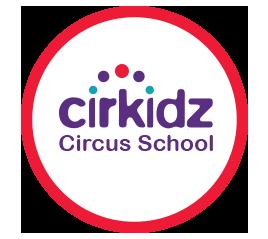 Cirkidz circus school logo